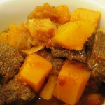 Layers of Flavor: Spicy Squash, Potato and Beef Stew