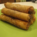Thai Cooking School:  Crispy Spring Rolls