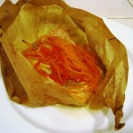 Pretty Parchment Packets:  Salmon en Papillote