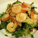 Richard Goes Crazy and a Shrimp-Quinoa Salad