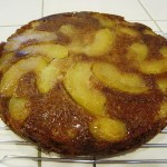 Cardamom Apple Upside Down Cake