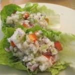 Summer Recipes:  Fish &#8220;Taco&#8221; Lettuce Cups
