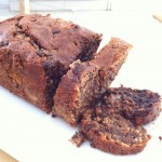 Chocolate Chip-Nutella Banana Bread