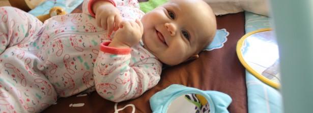 Ramona Rose at 4 Months